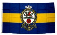 Fahne / Flagge Großbritannien Royal Princess of Wales Regiment 90 x 150 cm