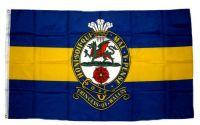 Fahne / Flagge Großbritannien Royal Princess of Wales Regiment 90 x 150 cm