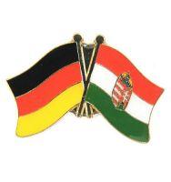 Fahnen Freundschaftspin Anstecker Ungarn