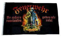 Fahne / Flagge Feuerwehr Real Heroes 90 x 150 cm