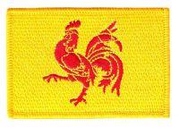 Fahnen Aufnäher Belgien - Wallonien Fahne Flagge Patch