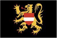 Fahnen Aufkleber Sticker Belgien - Flämisch Brabant