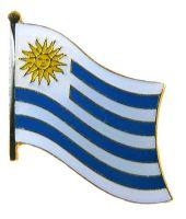 Flaggen Pin Uruguay NEU Fahne Flagge Anstecknadel