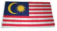 Flagge / Fahne Malaysia Hissflagge 90 x 150 cm