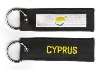 Fahnen Schlüsselanhänger Zypern