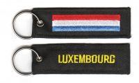 Fahnen Schlüsselanhänger Luxemburg