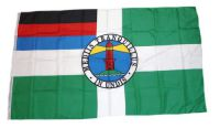 Flagge / Fahne Insel Borkum Hissflagge 90 x 150 cm