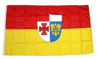 Flagge / Fahne Landkreis Augsburg Hissflagge 90 x 150 cm