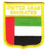 Wappen Aufnäher Fahne Vereinigte Arabische Emirate