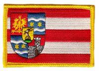 Fahnen Aufnäher Kroatien - Varazdin