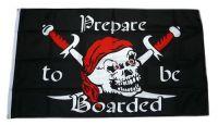 Fahne / Flagge Pirat Prepare to be Boarded 90 x 150 cm