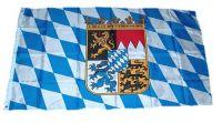 Fahne / Flagge Freistaat Bayern Wappen 150 x 250 cm