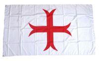 Fahne / Flagge Templerkreuz 90 x 150 cm