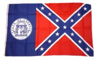 Flagge / Fahne USA - Georgia alt 90 x 150 cm