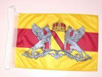 Bootsflagge Großherzogtum Baden 30 x 45 cm