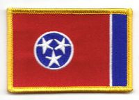 Fahnen Aufnäher USA - Tennessee