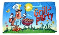 Fahne / Flagge Grillfahne Grill Party 60 x 90 cm
