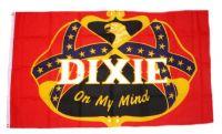 Fahne / Flagge Südstaaten - Dixie 90 x 150 cm