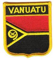 Wappen Aufnäher Fahne Vanuatu