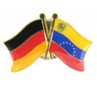 Fahnen Freundschaftspin Anstecker Venezuela