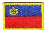 Fahnen Aufnäher Liechtenstein