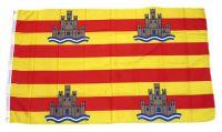 Fahne / Flagge Spanien - Ibiza 90 x 150 cm