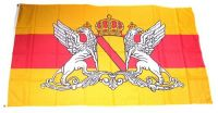 Fahne / Flagge Großherzogtum Baden Wappen 90 x 150 cm
