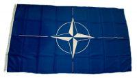Fahne / Flagge NATO 90 x 150 cm