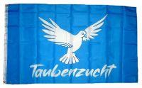 Fahne / Flagge Taubenzucht Taube 90 x 150 cm