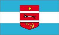Fahne / Flagge Kroatien - Virovitica Podravina 90 x 150 cm