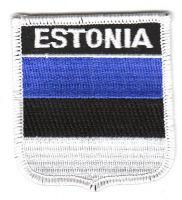Wappen Aufnäher Fahne Estland