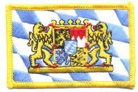 Fahnen Aufnäher Freistaat Bayern Löwen