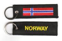 Fahnen Schlüsselanhänger Norwegen