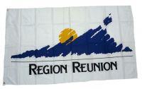 Fahne / Flagge Frankreich - Region Reunion 90 x 150 cm