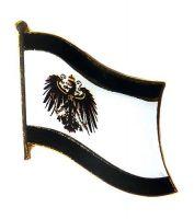 Flaggen Pin Königreich Preußen NEU Fahne Flagge Anstecknadel