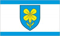 Fahne / Flagge Kroatien - Lika Senj 90 x 150 cm