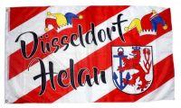 Fahne / Flagge Düsseldorf Helau Karneval Fasching 90 x 150 cm