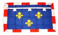 Fahne / Flagge Frankreich - Centre 90 x 150 cm
