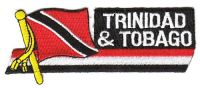 Fahnen Sidekick Aufnäher Trinidad & Tobago