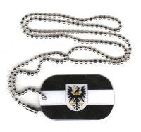Dog Tag Fahne Westpreußen