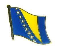 Flaggen Pin Fahne Bosnien Herzegowina NEU Anstecknadel
