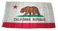 Fahne / Flagge USA - Kalifornien 90 x 150 cm