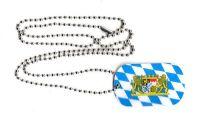 Dog Tag Fahne Freistaat Bayern Löwen