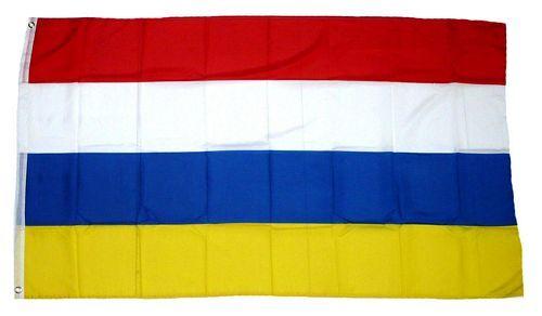 Fahne / Flagge Karneval Fasching Streifen 60 x 90 cm