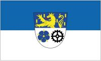 Fahne / Flagge Landkreis Neunkirchen 90 x 150 cm