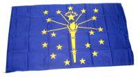 Fahne / Flagge USA - Indiana 90 x 150 cm