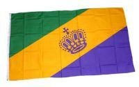 Fahne / Flagge Mardi Gras 90 x 150 cm
