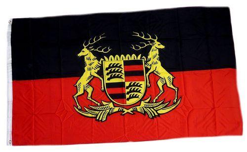 Fahne / Flagge Volksstaat Württemberg 90 x 150 cm