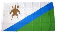 Flagge / Fahne Lesotho Hissflagge 90 x 150 cm