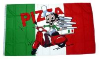Fahne / Flagge Italien Pizza Roller 90 x 150 cm